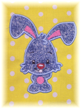 Applique Balloon Head Rabbit